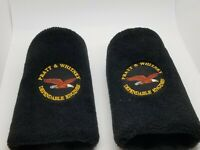 Vintage Set Of 2 Pratt & Whitney Golf Driver Hybrid Club Headcovers X/3 Rare!