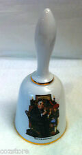 Norman Rockwell Collectible bell Doctor And Doll 1975 Danbury Mint Germany
