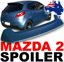 Mazda 2 Spoiler 2007+ Model PAINTED IN AQUATIC BLUE 40E rear wing body kit