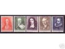 Nederland  490-494 Zomerzegels 1947  luxe postfris/mnh