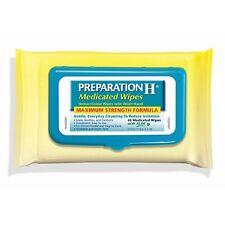 PREPARATION H MEDICATED WIPES *New Fresh Pack Flip Top*