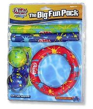 Wahu BMA312 Pool Party Fun Water Toy Toys Game Games Pack - Dive Sticks Rings