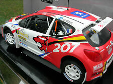 "SOLIDO 1/18 PEUGEOT 207 RALLY-IRC N°1 ""PEUGEOT 2008"" Vouilloz!!!!!!"