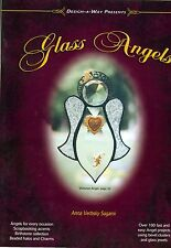 GLASS ANGELS Stained Glass Pattern Book, Books, Ornaments, Use up odd Bevels!