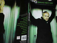 partition de musique rock SONGBOOK sheet music STING Brand New Day EMI MUSIC