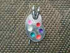 School of Design Painting Art Jewelry 1 Artist Palette Pewter Pin All New.