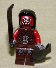 Lego URUK-HAI W/ HAIR SWORD SHIELD Mini-Figure Loose From 9471 Lord of the Rings