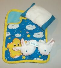 Care Bears Slumber Party Sleep Accessories - Sleeping Bag, Bunny Slippers, More