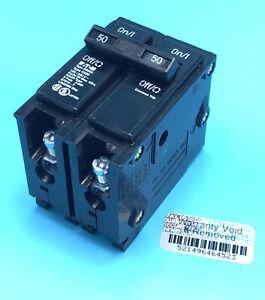 New Circuit Breaker Eaton Cutler-Hammer BR250 50 Amp 2 Pole 120/240V