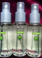 AVON ADVANCE TECHNIQUES DAILY SHINE DRY ENDS SERUM FOR  HAIR (LOT OF 3)2FL OZ