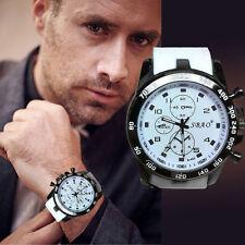 Luxus Edelstahl Sport Uhren Herren Analog Quarz Mode Militär Armbanduhren Watch