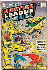 Brave and the Bold #29 DC Comics 1960 2nd Appearance of the Justice League GD-
