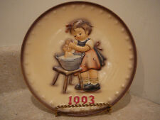 S20 Vintage 1993 Hummel Annual Collector Plate Doll Bath