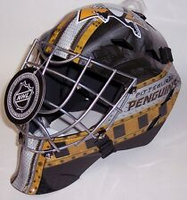 PITTSBURGH PENGUINS NHL FULL SIZE YOUTH GOALIE HOCKEY MASK ** NEW **