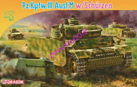 DRAGON 7323 1/72 Pz.Kpfw.III Ausf.M w/Schürzen
