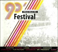 90' Festival Official Album Hits 2CD SEALED/FOLIA Sash!,Loona,Ice MC,Mark Oh & .