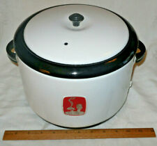 VTG 1940's Enamelware NESCO Thrifty Cook Casserole Electric Appliance Cooker