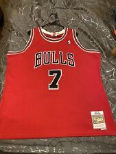 NEW Rare Toni Kukoc 1997-98 Chicago Bulls Mitchell & Ness Swingman Jersey 2 XL