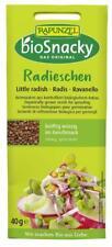 KS (3,79/100g) 6x Rapunzel BioSnacky Radieschen Keimsaaten vegan bio 40 g
