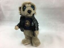 MEERKAT Biker VASILY leather jacket SOFT TOY Good Condition meerkovo