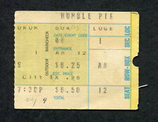 1973 Humble Pie Concert Ticket Stub Forum Los Angeles 30 Days In The Hole