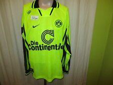 """Borussia dortmund nike manga larga Camiseta 1996/97 """"el"""" continetale talla XL nuevo"""