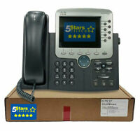 Cisco 7970G Unified IP Phone (CP-7970G=) Certified Refurbished, 1 Year Warranty