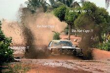 Hannu Mikkola Mercedes-Benz 450 SLC Winner Ivory Coast Rally 1979 Photograph 1