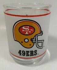 Vintage San Francisco 49ERS HELMET 12oz GLASS-NFL Mobile Collectible Memorabilia