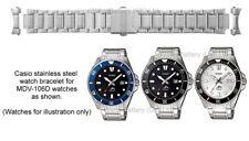 Genuine Casio Watch Strap.Replacement Metal Bracelet for Casio MDV-106D Watch