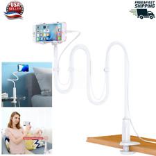 Universal Lazy Mobile Phone Holder Gooseneck Stand Flexible Arm Bed Desk Table