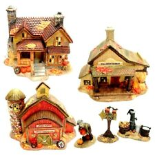 Harvest Bounty 11-Piece Lighted House Set