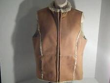 GUIDE SERIES Womens M Beige Vest Polyester Acrylic