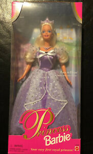 Princess Barbie Doll 1997 (Blonde) NRFB Easy To Dress