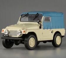 Moskvitch 415 Phaeton Soviet SUV 1:43 Scale Beige & Blue Color Diecast Model Car