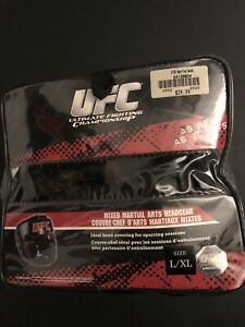 Genuine UFC mixed martial arts headgear Protection size L/XL Black Brand New!!