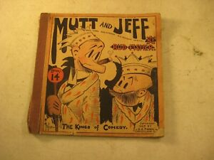 MUTT AND JEFF THE KINGS OF COMEDY BUD FISHER 1929