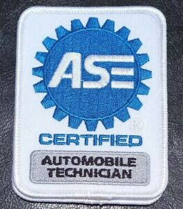 ASE Certified Automobile Technician Patches Lot of 2