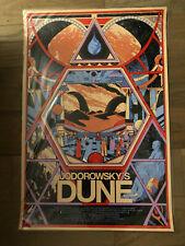 Jodorowsky's Dune (Documentary) by Kilian Eng - Mondo Art Print - Very Rare