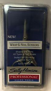 2 Sally Hansen  Acrylic Wrap & Nail Scissors  Made in Germany