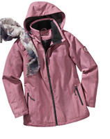 Lightweight Weather and Water Repellant Hip Length Jacket , Hooded  Rain jacket