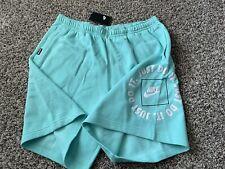 New listing NEW Nike Just Do It Fleece Shorts Mint Rare Jordan DA0182-307 Sz.3XL