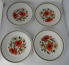Unboxed British 1960-1979 J&G Meakin Pottery Side Plates