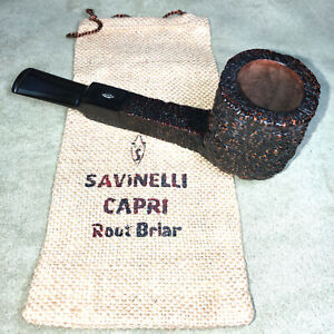 SAVINELLI CAPRI 515 ROOT BRIAR PIPE with SOCK