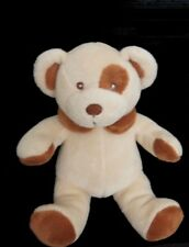 Doudou Ours BAMBIA LIDL ALDI Beige Cocard NEUF