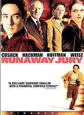 Runaway Jury (DVD, 2004, Widescreen) VERY GOOD