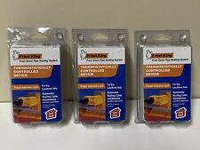 Set Of 3 New Sealed Frost King Thermostatically Controlled Devices