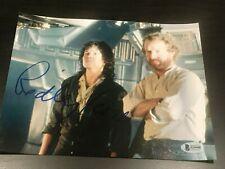 Ridley Scott Unterzeichnet Autogramm 8x10 Foto Aliens Sigourney Beckett COA Auto