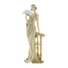 Juliana Art Deco Broadway Belles Cream /Gold Lady Figurine / Ornament.New.58429