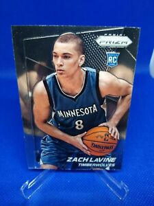 2014-15 Panini Prizm Zach LaVine Rookie RC Chicago Bulls A